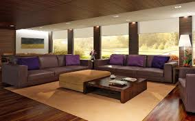 Brown Sofa Set Designs Purple Minimalist Leather Sofa Sets For Modern Living Room Idea