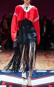 cropped hockey sweater by monse moda operandi