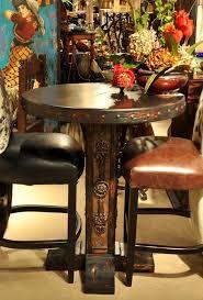 Granite Top Bistro Table Splendid Unique Bistro Tables With Copper Top Round Iron Bistro