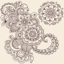 simple henna tattoo flower designs archives tattoo art design ideas