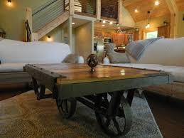 Larkin Coffee Table 1900s Larkin Factory Cart Coffee Table Lofty Mountain Homes