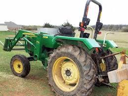 john deere 5103 tractor with jd 512 loader