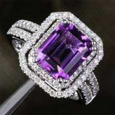 purple diamond engagement rings purple diamond rings wedding promise diamond engagement rings