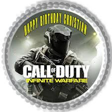 xbox cake topper call of duty infinite warfare edible cake topper cupcake toppers