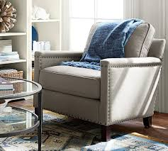 What Is Armchair Travel Tyler Upholstered Armchair Pottery Barn