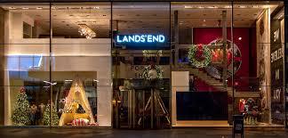 lands end christmas land s end windows new york 2015