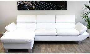 canap blanc cuir fauteuil design italien cuir einzigartige canap cuir blanc design