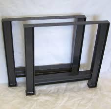 Diy Metal Desk by Industrial Table Legs Massive Structural Steel I Beam