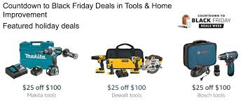 amazon black friday deals week 2016 save 25 off 100 on dewalt bosch and makita tools at amazon 2