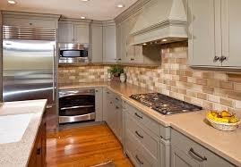 classic kitchen backsplash classic kitchen look with oak cabinets tile backsplash zach