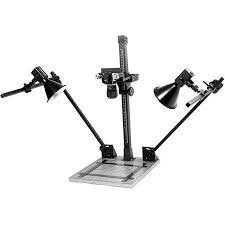 camera copy stand with lights beseler csk 14 copy stand kit with lights 4205