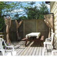 Homedepot Trellis Home Depot 10 X 10 Trellis Gazebo Replacement Canopy Garden Winds