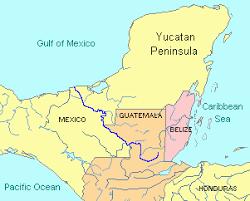 map of mexico yucatan region the yucatán peninsula