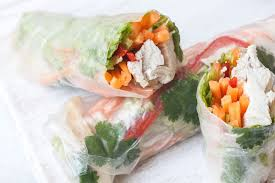 rice paper wrap chicken rice paper wraps recipes bite