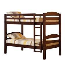 WE Furniture Espresso Twin Solid Wood Bunk Bed Walmart Canada - Walmart bunk bed