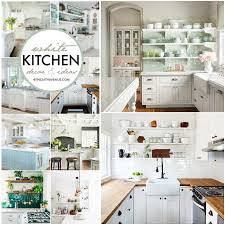 Ideas For Kitchen Decor White Kitchen Decor Ideas The 36th Avenue