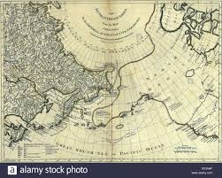Spanish Map Of North America by 1775 Map Showing Eastern Russian And Western North America Map