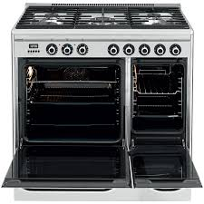John Lewis Kitchen Design by Buy John Lewis Jlrc921 Dual Fuel Range Cooker Stainless Steel