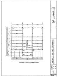 Floor Framing Plan Timber Frame Drawing Packages By Timberworks Design
