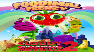 cloudy with a chance of meatballs 2 foodimal frenzy universal