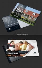 9 best images of cool postcard template real estate marketing