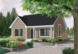 Transitional Style House House Plan W2151 Detail From Drummondhouseplans Com