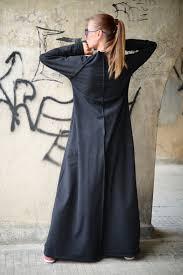 plus size maxi dress extra long black cotton dress maxi kaftan