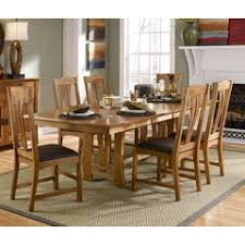 Chintaly Imports Sunny Dt Sunny 48 Quot Round Dining Table W Mission Dining Room Sets Mission Style Dining Tables Home