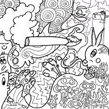 stoner coloring pages funycoloring