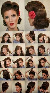 best 25 victory rolls ideas on pinterest vintage hair victory