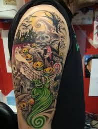 nightmare before tattoos