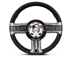 Mustang Boss 302 Black And Red Ford Mustang Boss 302 Alcantara Suede Steering Wheel 3600aa 10 14