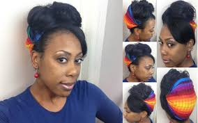 hairstyles wraps the natural me headband head wrap tutorial on straight natural