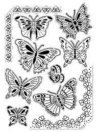 Vintage papillons adulte  Coloriages dInsectes  100 Mandalas Zen