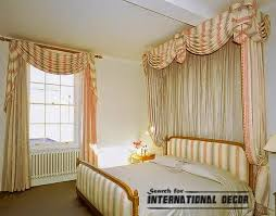 striped bedroom curtains classic striped curtain style for bedroom curtain designs