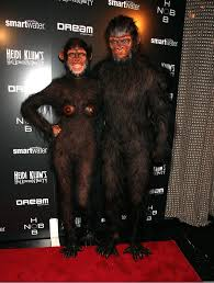 showing off her second costume heidi klum joined then husband