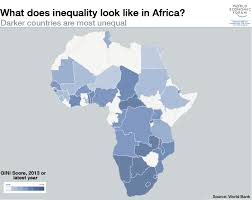 World Map Africa by 5 Maps On The State Of Global Inequality World Economic Forum