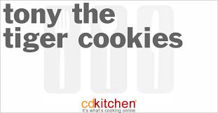 tony the tiger cookies recipe cdkitchen com