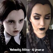 Munsters Halloween Costumes 25 Wednesday Addams Ideas Adams Family
