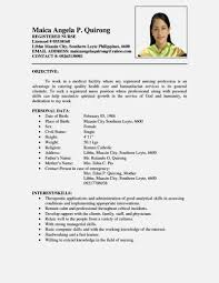 resume format 2017 philippines nice sle resume in the philippines resume template for free