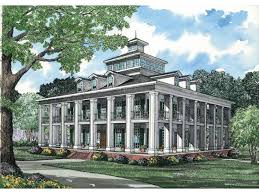 Merry 7 House Plan With Merry 7 Large Plantation House Plans Southern Home Homepeek