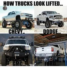 Lifted Truck Meme - how trucks look lifted chema meme on me me