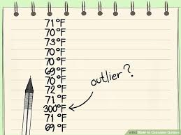 how to calculate outliers 10 steps with pictures wikihow