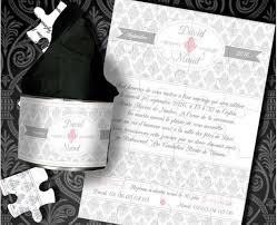faire part mariage puzzle faire part mariage original vintage boite puzzle pretty