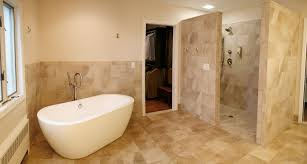 ideas charming open concept bathroom massage bathtub with open