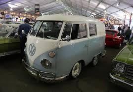 minivan volkswagen hippie gas monkey garage shorty bus at barrett jackson collector car