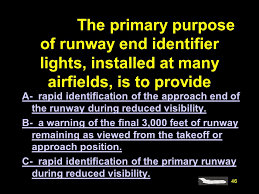 runway end identifier lights 4085 what standard minimums are required to list an airport as an