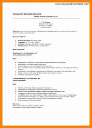 8 computer science resume templates letter signature