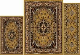 Area Rug And Runner Set Buy Modern Area Rug 2 Feet 3 Inch By 8 Feet Runner Rawhide Carpet