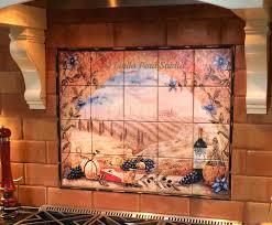 murals for kitchen backsplash tiles tile murals kitchen tile for kitchen